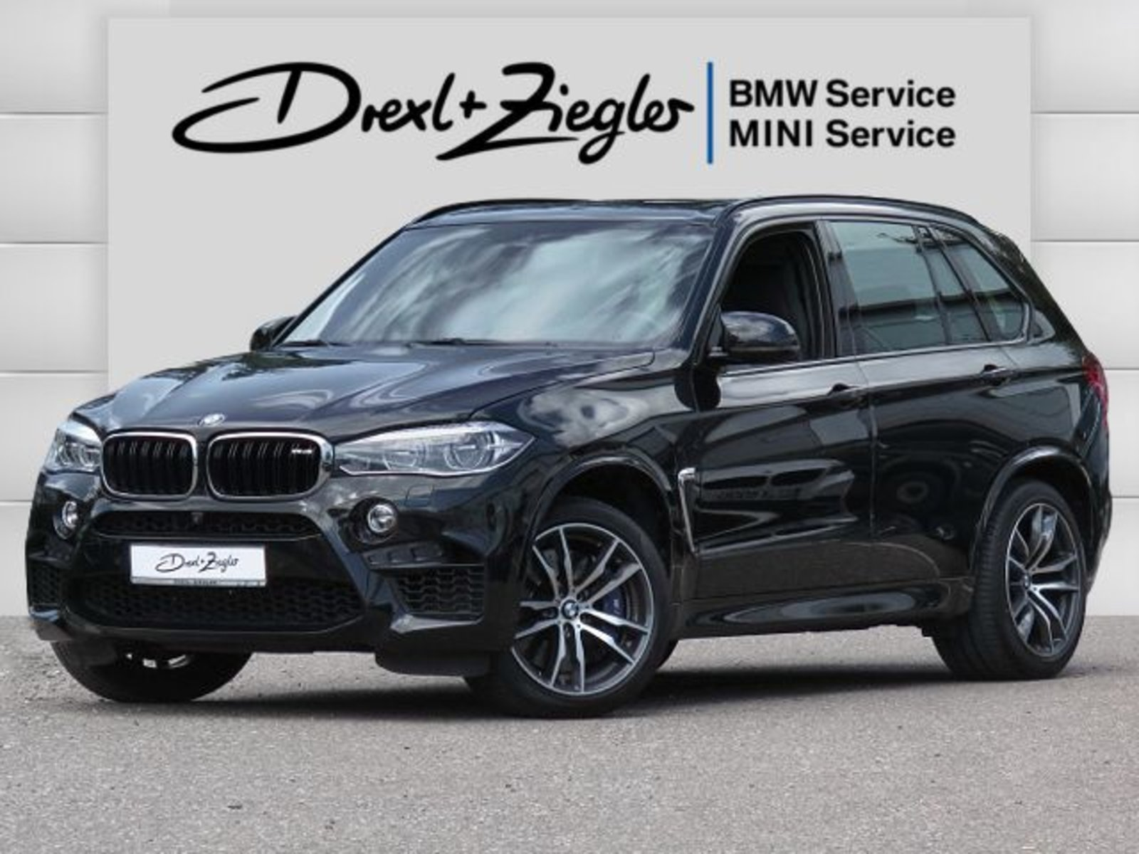 BMW X5 M M-DriverPack AHK H&K HUD DAB M-Sitz GSD, Jahr 2016, Benzin