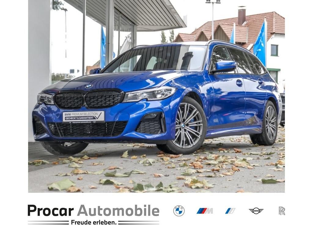 BMW M340d xDrive A M-Sportpaket +Head-Up +Panorama +HiFi +DAB +LED +Navi +Leder+ Laserlicht, Jahr 2020, Diesel