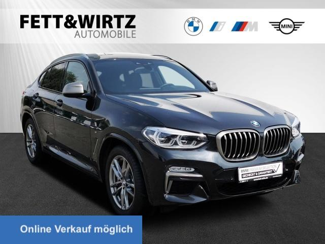 BMW X4 M40i Stop&Go Pano HUD Leder, Jahr 2019, Benzin