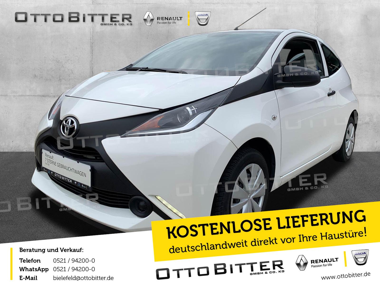 Toyota Aygo 1.0 X GANZJAHRESREIFEN/BLUETOOTH/KLIMA, Jahr 2017, Benzin