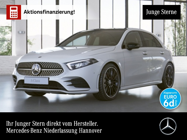 Mercedes-Benz A 220 AMG Pano Navi Premium LED Night Kamera PTS, Jahr 2019, Benzin