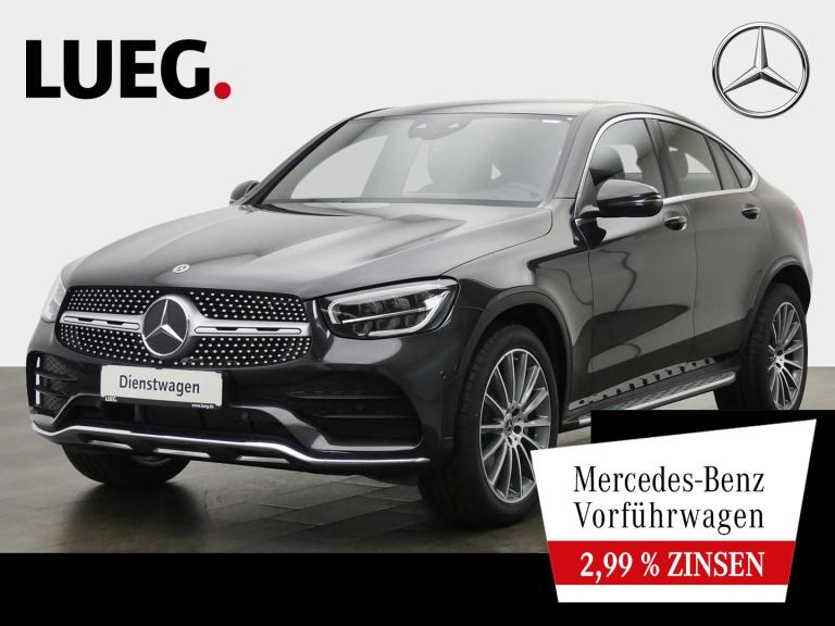 Mercedes-Benz GLC 220 d 4M Coupé AMG+20''+LED+DIG.TACHO+KAMER, Jahr 2020, Diesel