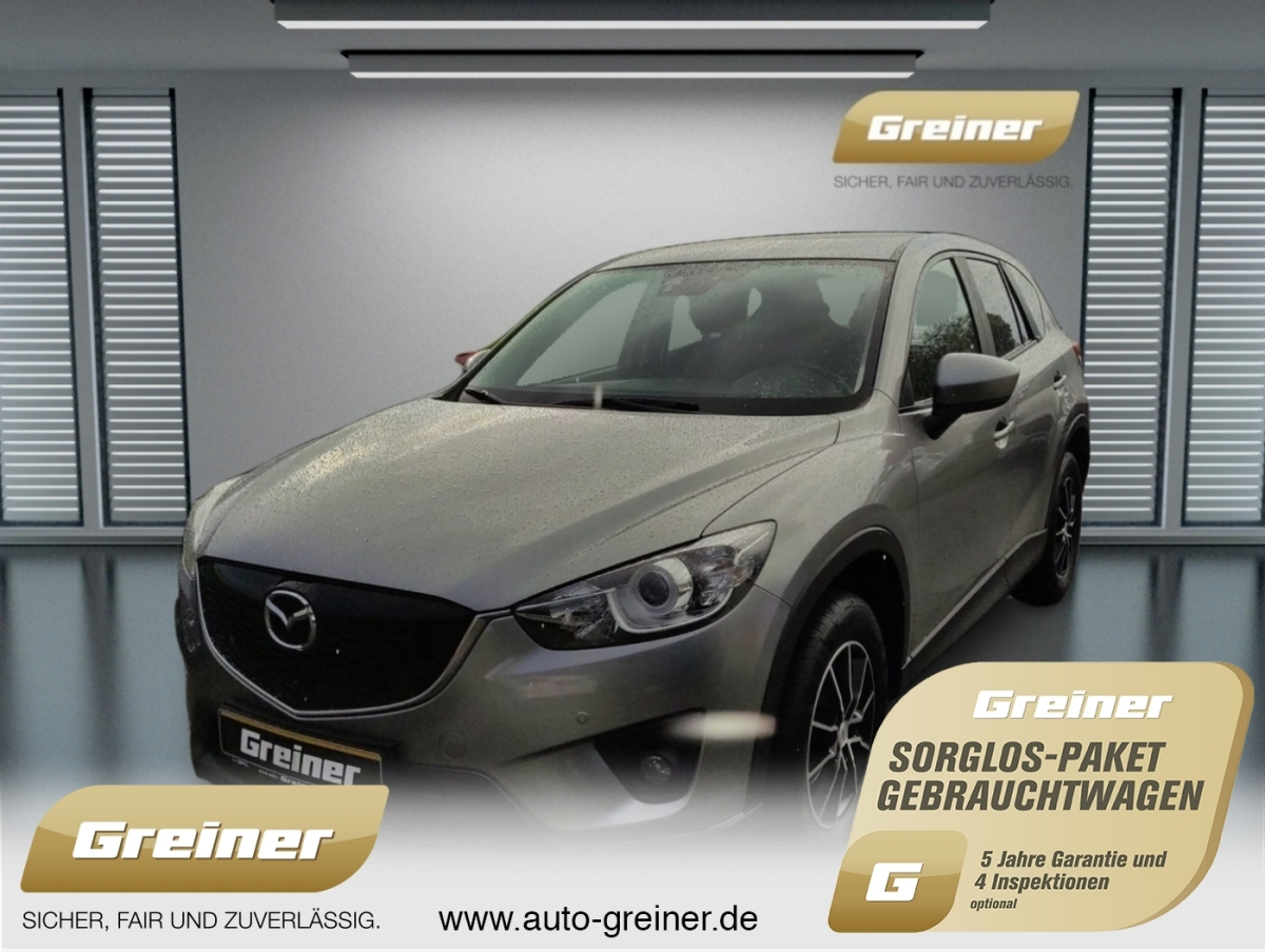 Mazda CX-5 2.0 Center-Line KLIMAAUTO|SHZ|PDC|MP3|, Jahr 2013, petrol