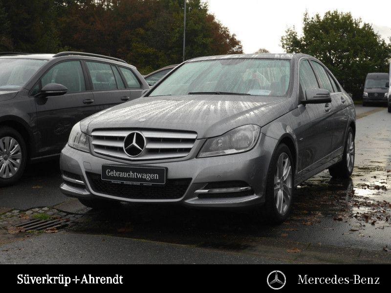 Mercedes-Benz C 180 BE Avantgarde Navi AHK Parktronic Sitzhzg., Jahr 2012, petrol