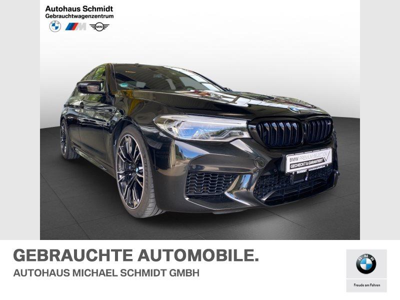BMW M5 Limousine COMPETITION+ACC+SPORTABGASANLAGE+, Jahr 2019, Benzin