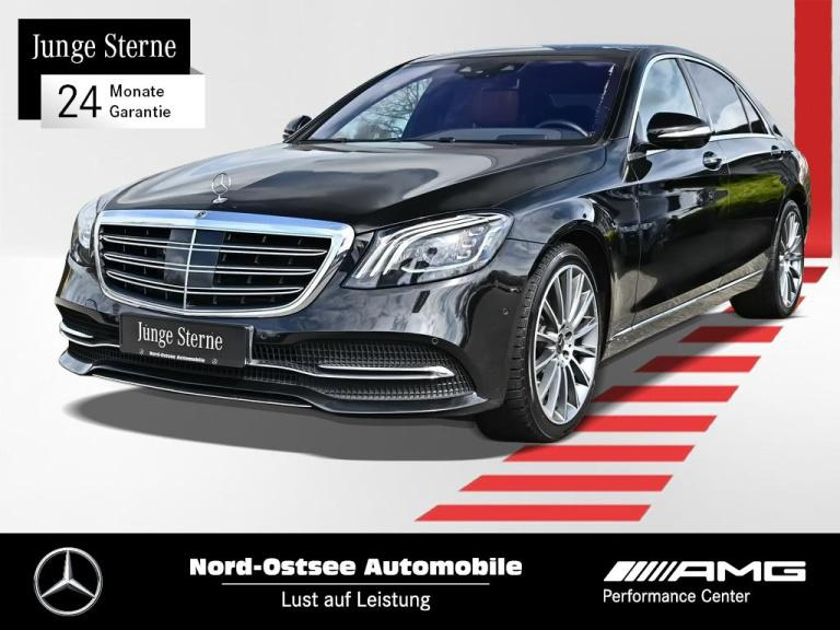 Mercedes-Benz S 400 d 4M lang COMAND AHK Pano Multibeam 360°, Jahr 2018, Diesel