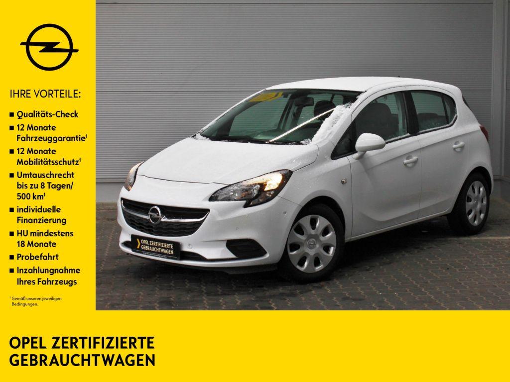 Opel Corsa 1.2 Edition PDC Totwinkel SHZ Allwetter, Jahr 2017, Benzin