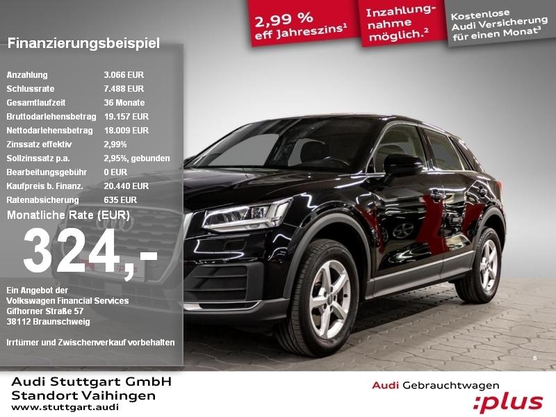 Audi Q2 1.4 TFSI LED Navi Bluetooth Sitzheizung PDC, Jahr 2017, Benzin