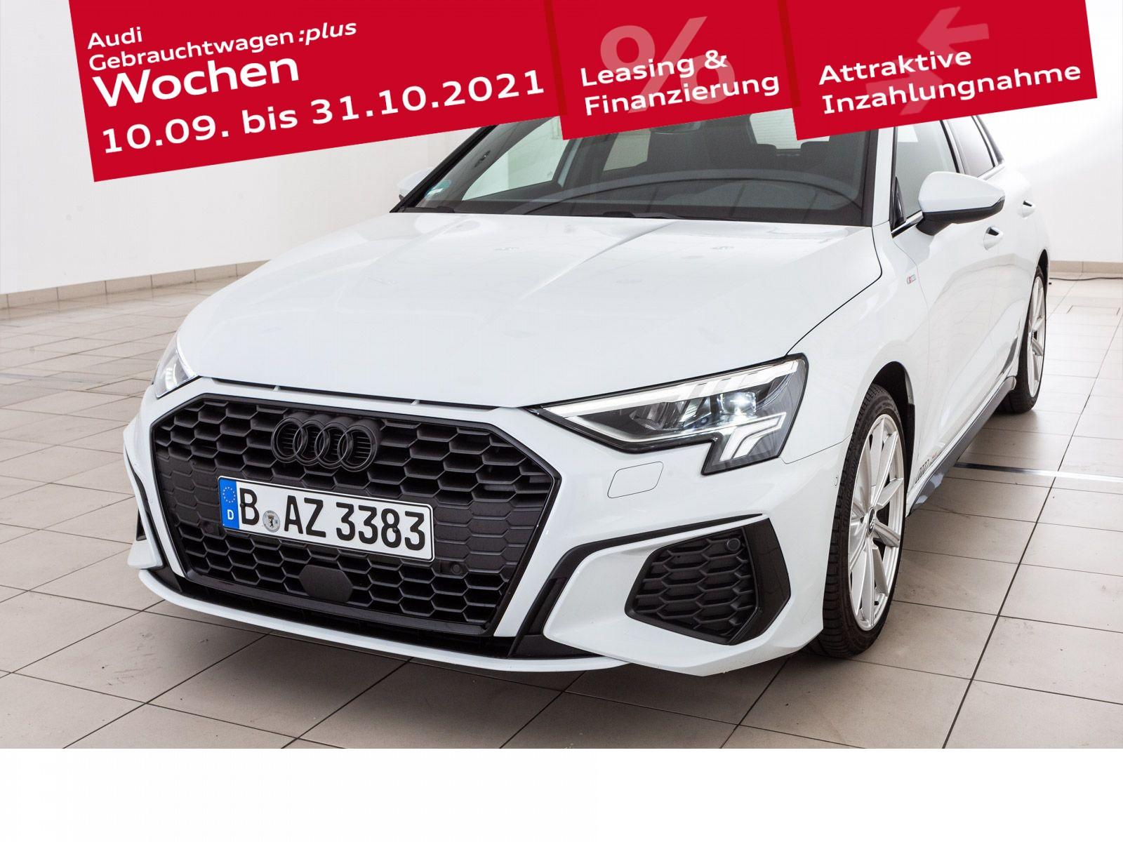 Audi A3 Sportback S line 35 TFSI S tronic, Jahr 2021, Benzin