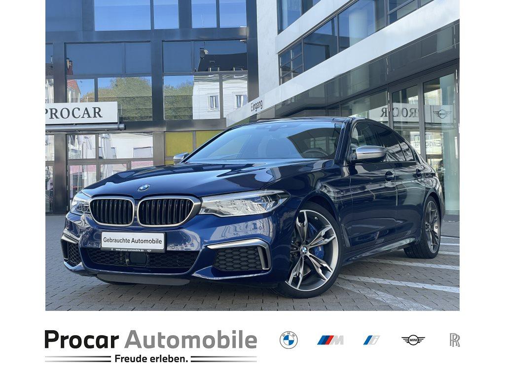 BMW M550i xDrive 20 DA PA HuD Standheiz. AppleCarPl., Jahr 2018, Benzin