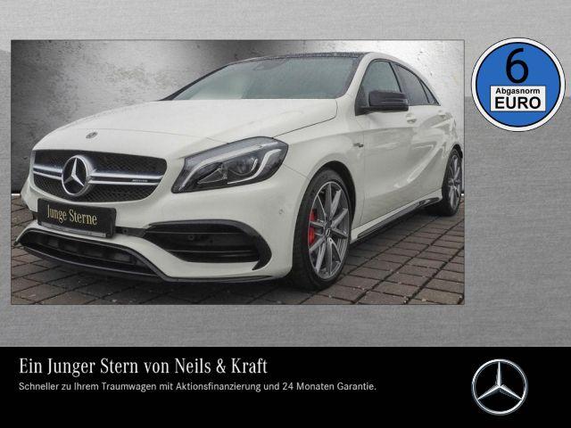 Mercedes-Benz A 45 AMG 4M NIGHT+PANO+PERFO AGA+COMAND+CAR PLAY, Jahr 2017, Benzin