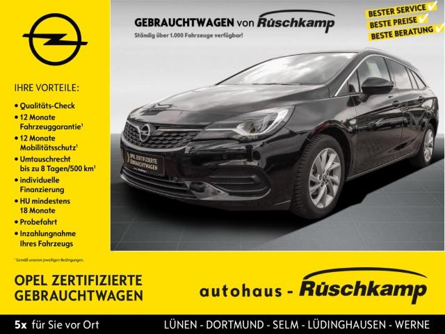 Opel Astra K Sports Tourer Elegance Start Stop 1.2 Turbo EU6d Apple CarPlay Android Auto, Jahr 2020, Benzin
