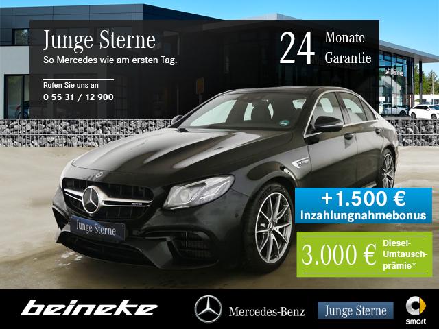 Mercedes-Benz AMG E 63 4M+ Distr. Mbeam Pano 360° Wide Comand, Jahr 2020, Benzin