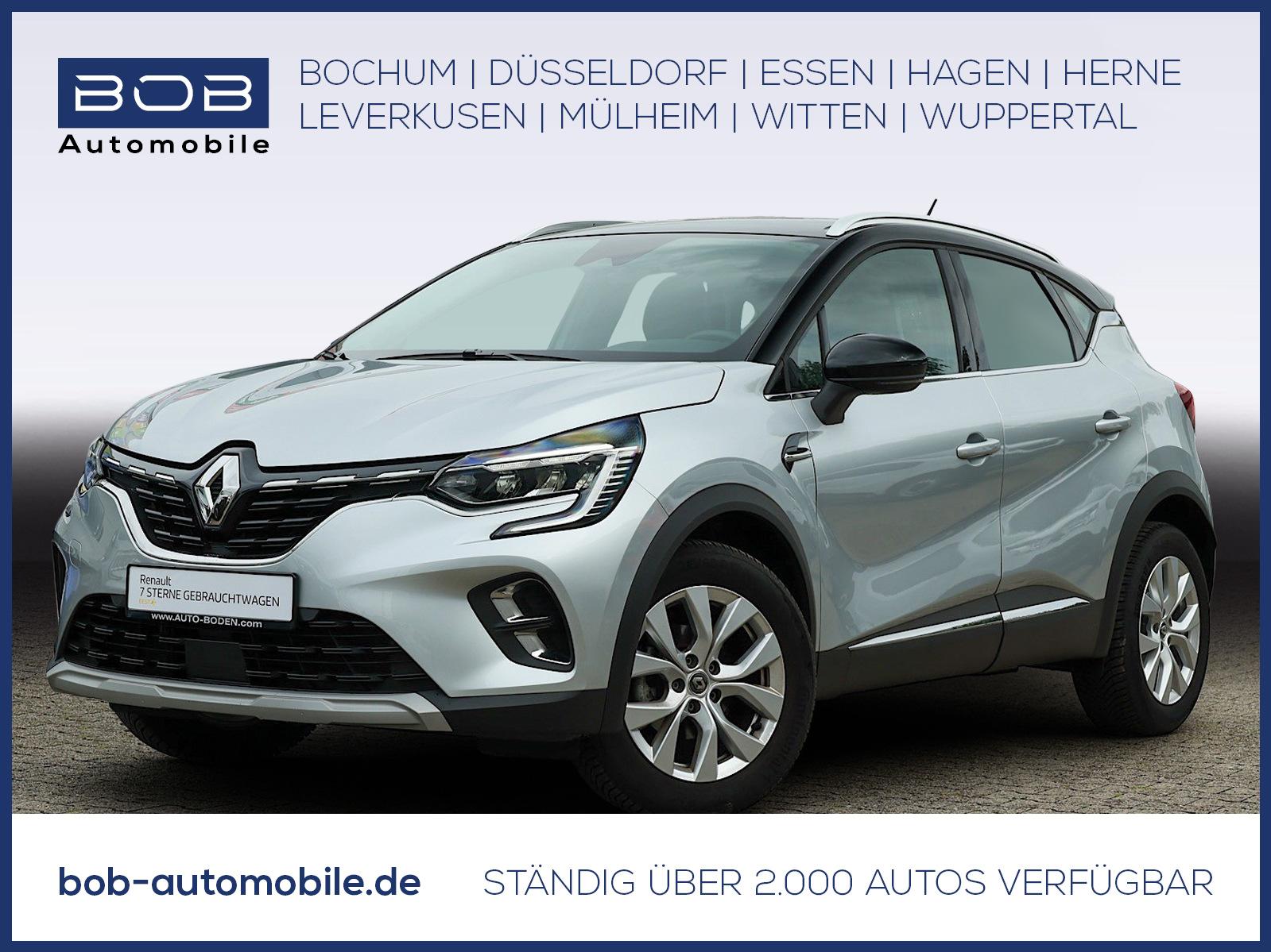 Renault Captur INTENS TCe 100 NAVI SHZ PDC KLIMA LM, Jahr 2020, Benzin