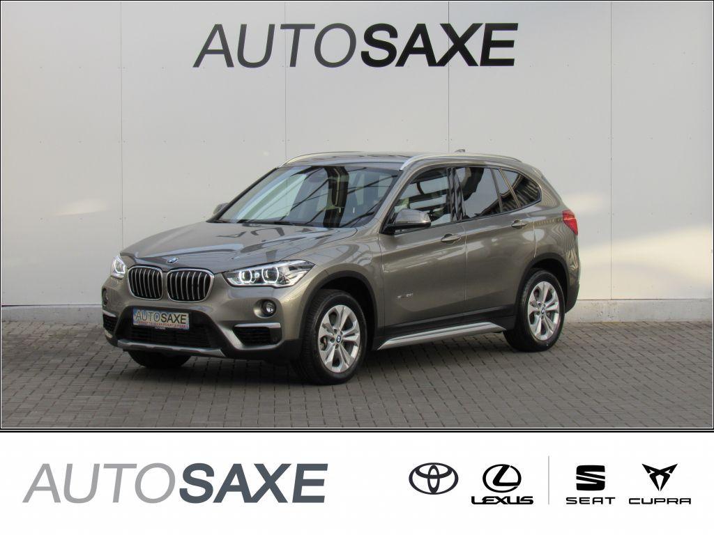 BMW X1 sDrive20i Aut. xLine*LED*NAVI*LEDER*SHZ*HUD*, Jahr 2017, Benzin