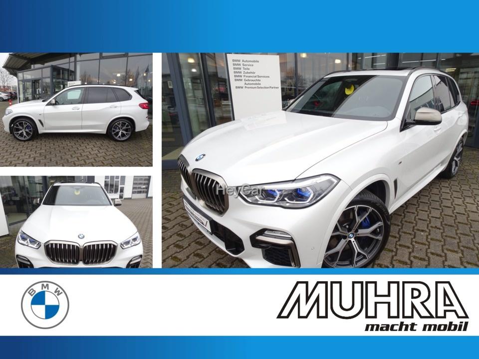BMW X5 M50i Pano Head up AHK Standheizung Laser, Jahr 2020, Benzin