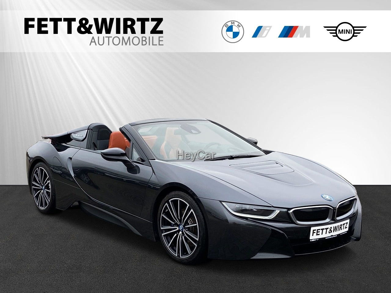 BMW i8 Roadster NaviProf. HUD H/K DA SHZ, Jahr 2018, Hybrid