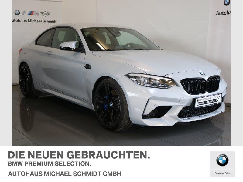 BMW M2 Competition Coupé HK-HIFI+DKG+RFK+LED+NAVI PROF., Jahr 2018, petrol