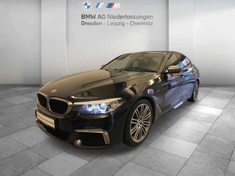 BMW M550i xDrive Limousine EURO6 M Sportbr. Head-Up GSD RTTI, Jahr 2017, Benzin