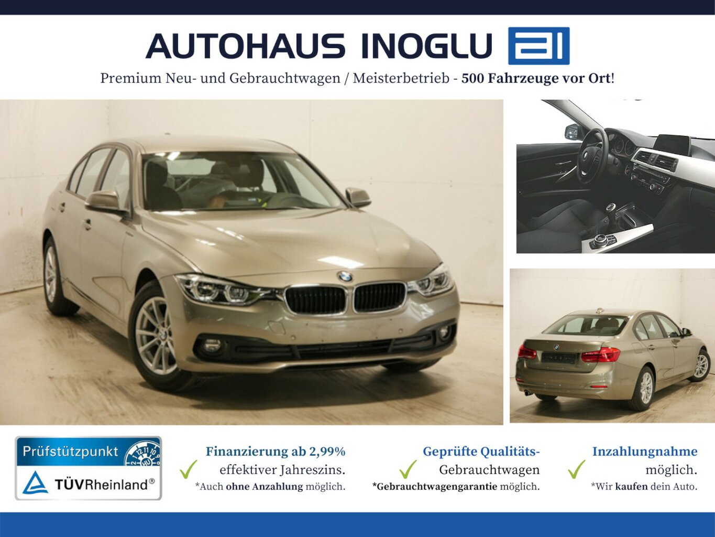 BMW 316d Lim. LED NAVI PDCv+h 8Fach Euro6, Jahr 2017, Diesel