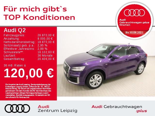 Audi Q2 1.4 TFSI sport*S line*Pano*HuD*LED-Paket*B&O*, Jahr 2018, Benzin