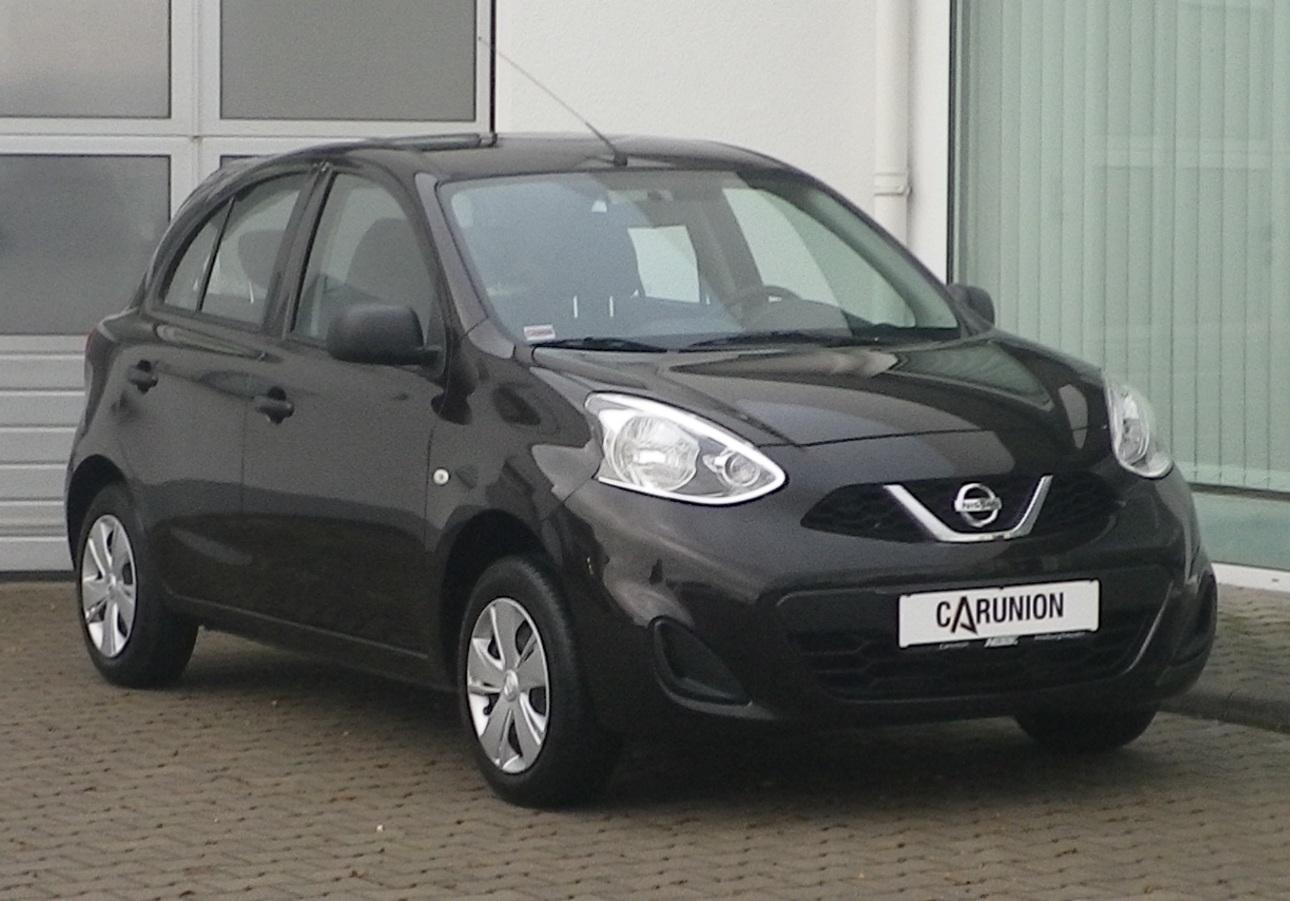 Nissan Micra VISIA 1.2 Klima, Jahr 2014, Benzin