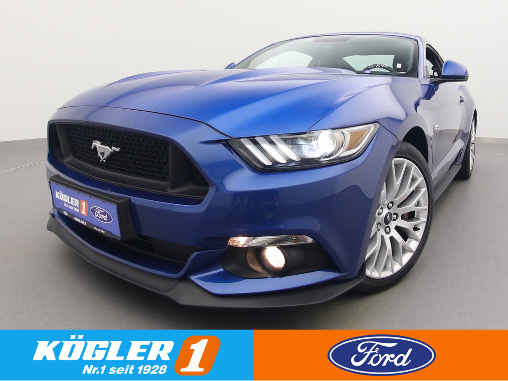 Ford Mustang GT Coupe V8 421PS/Premium-Paket, Jahr 2017, Benzin