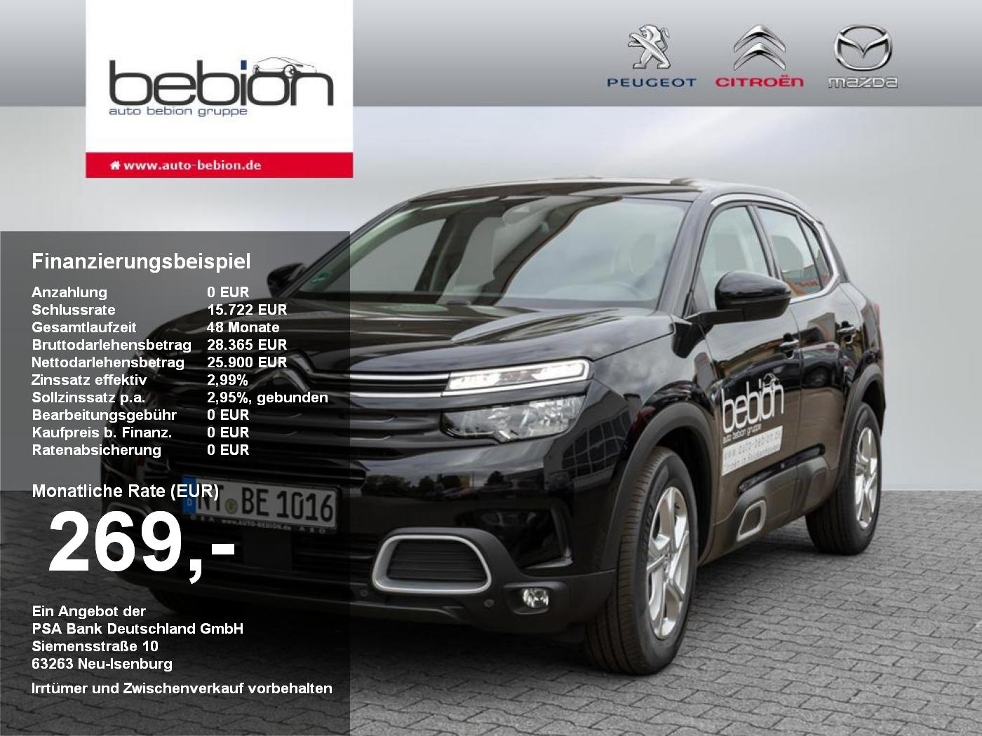 Citroën C5 AIRCROSS Live BlueHDi 130 S&S M6 Bremsass PDC, Jahr 2020, Diesel