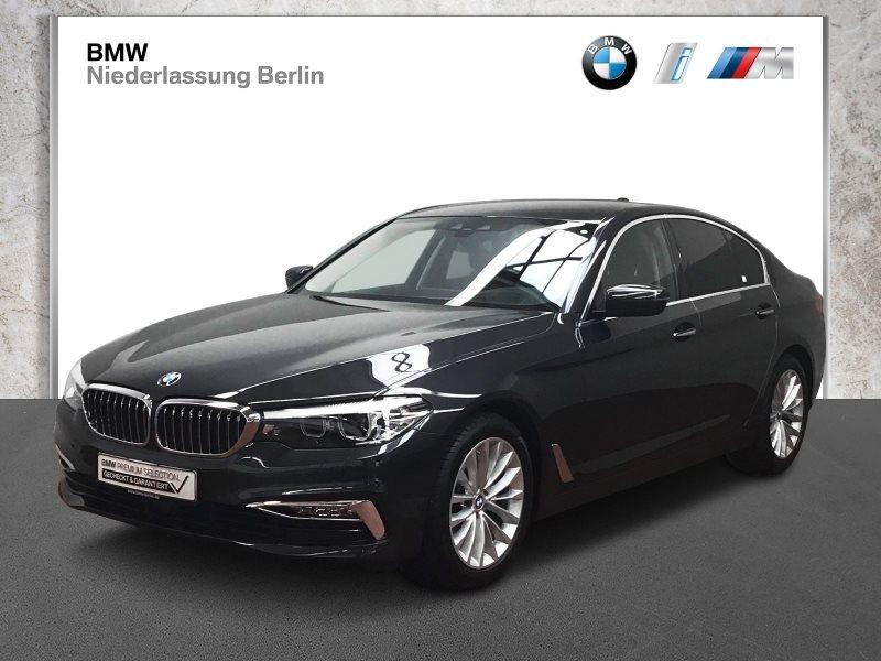 BMW 520d Lim. EU6 Aut. Leder LED Navi Prof. Head-Up, Jahr 2018, Diesel
