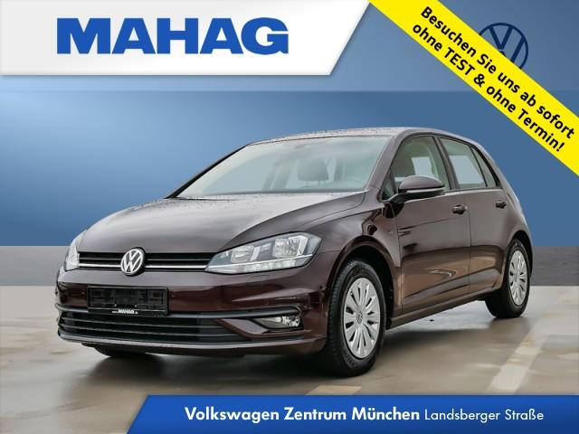 Volkswagen Golf VII 1.0 TSI Trendline Klima Sitzheizung PDC Golf 1,0 TLBM 81 TSI M6F, Jahr 2018, Benzin