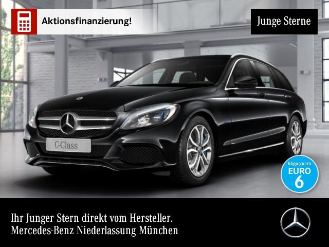 Mercedes-Benz C 350 e T Avantgarde Airmat LED Navi PTS Sitzh, Jahr 2017, Hybrid
