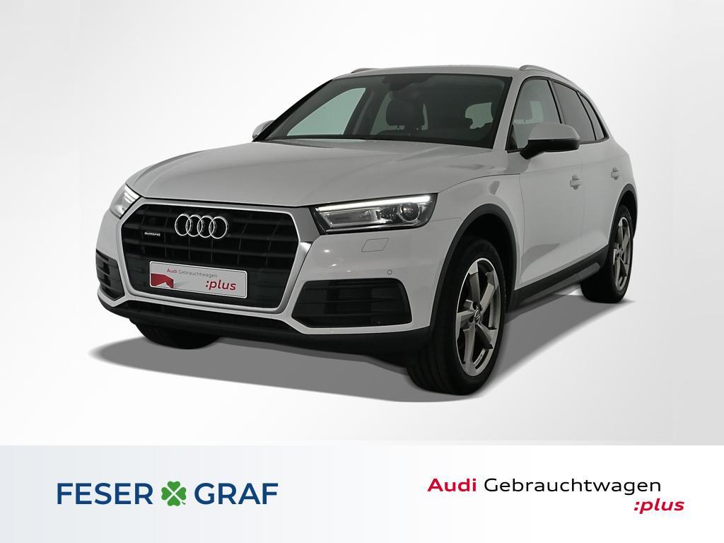 Audi Q5 40 TDI qu S tronic Leder,Navi,B&O,20, Jahr 2019, Diesel