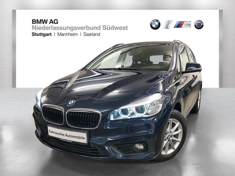 BMW 218i Active Tourer Advantage LED Navi Tempomat, Jahr 2016, Benzin