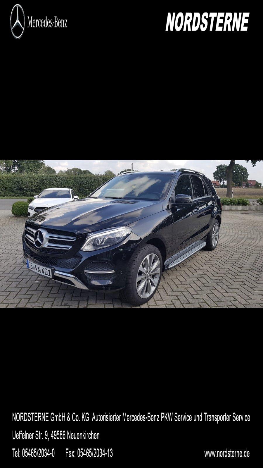 Mercedes-Benz GLE 250 d 4MATIC 20 Zoll COMAND ILS LED SHZ, Jahr 2015, diesel