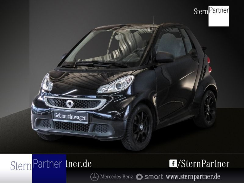 smart fortwo cabrio 52 kw Passion -, Jahr 2013, petrol