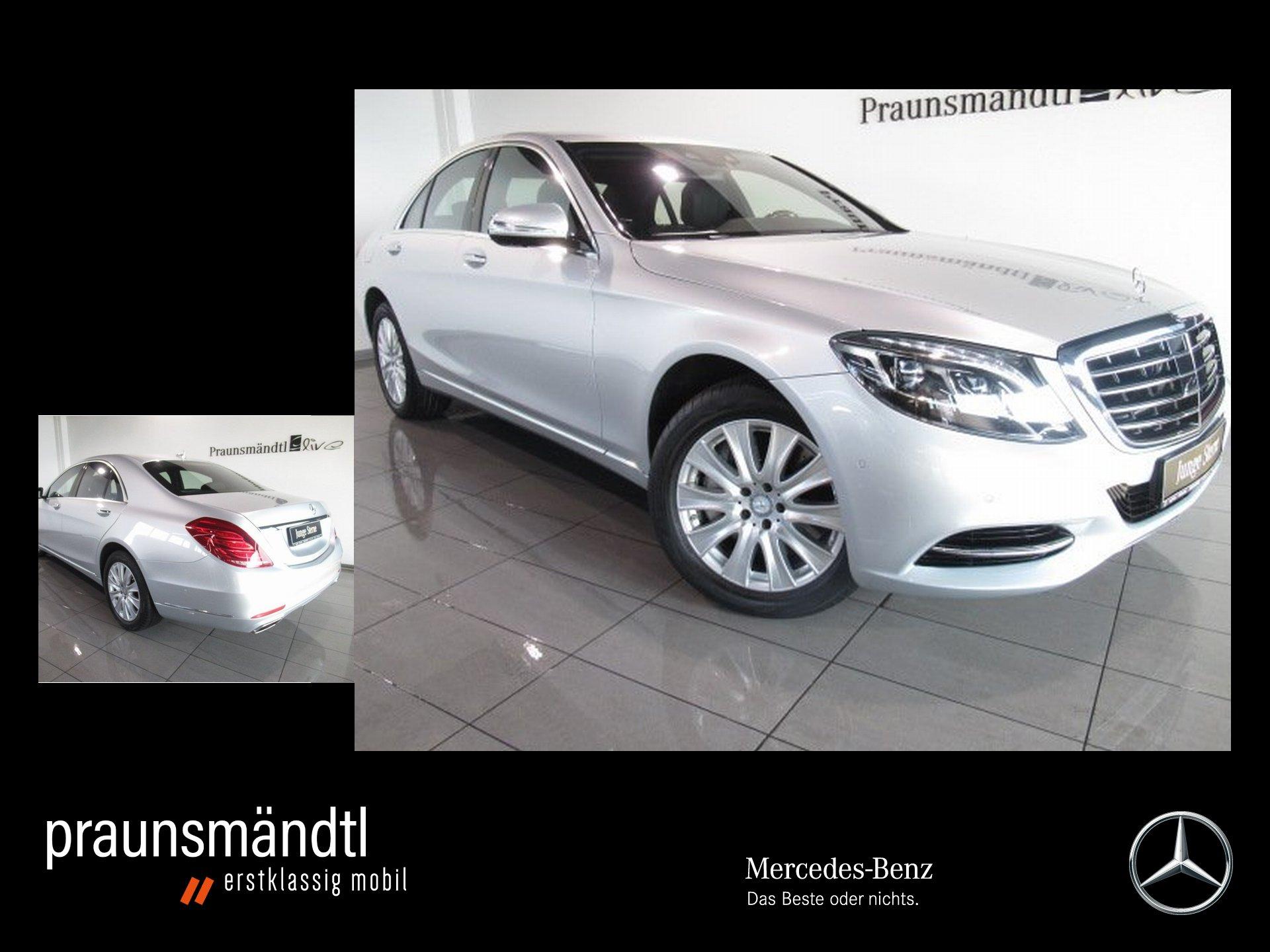 Mercedes-Benz S 500 4M LED/360°/Distr./Com/Sound/Sitzklima/Mem, Jahr 2015, Benzin