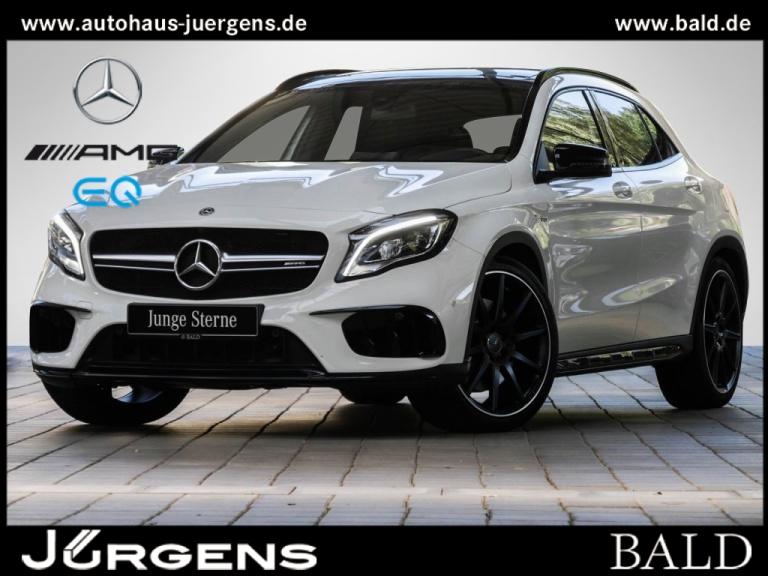 Mercedes-Benz AMG GLA 45 4MATIC Sport Utility Vehicle Designo, Jahr 2017, Benzin