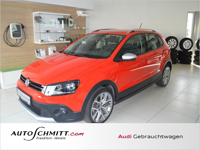 Volkswagen Polo Cross 1.2 TSI DSG Navi Sitzheizung Bluetooth, Jahr 2016, Benzin