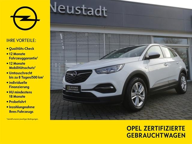Opel Grandland-X Edition Lenkrad-/Sitzheizung, Fronts, Jahr 2018, Benzin