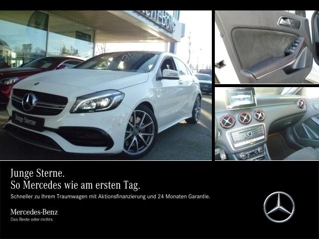 Mercedes-Benz A 45 AMG 4M V-Max,Performance-AGA,Navi,LED,Panod, Jahr 2016, petrol