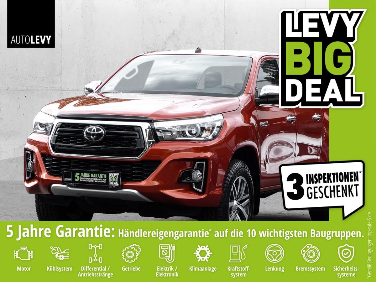 Toyota Hilux Double Cab 2.4 D-4D Executive *LEDER*NAVI*, Jahr 2019, Diesel