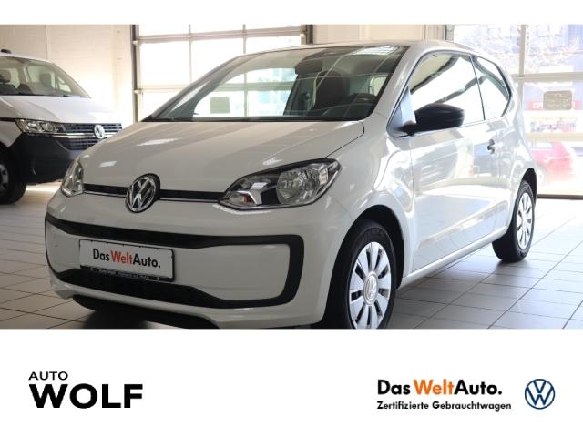 Volkswagen up! take 1.0 BMT Start-Stopp LED-Tagfahrlicht RDC Klima PDC AUX ESP Seitenairb., Jahr 2017, Benzin