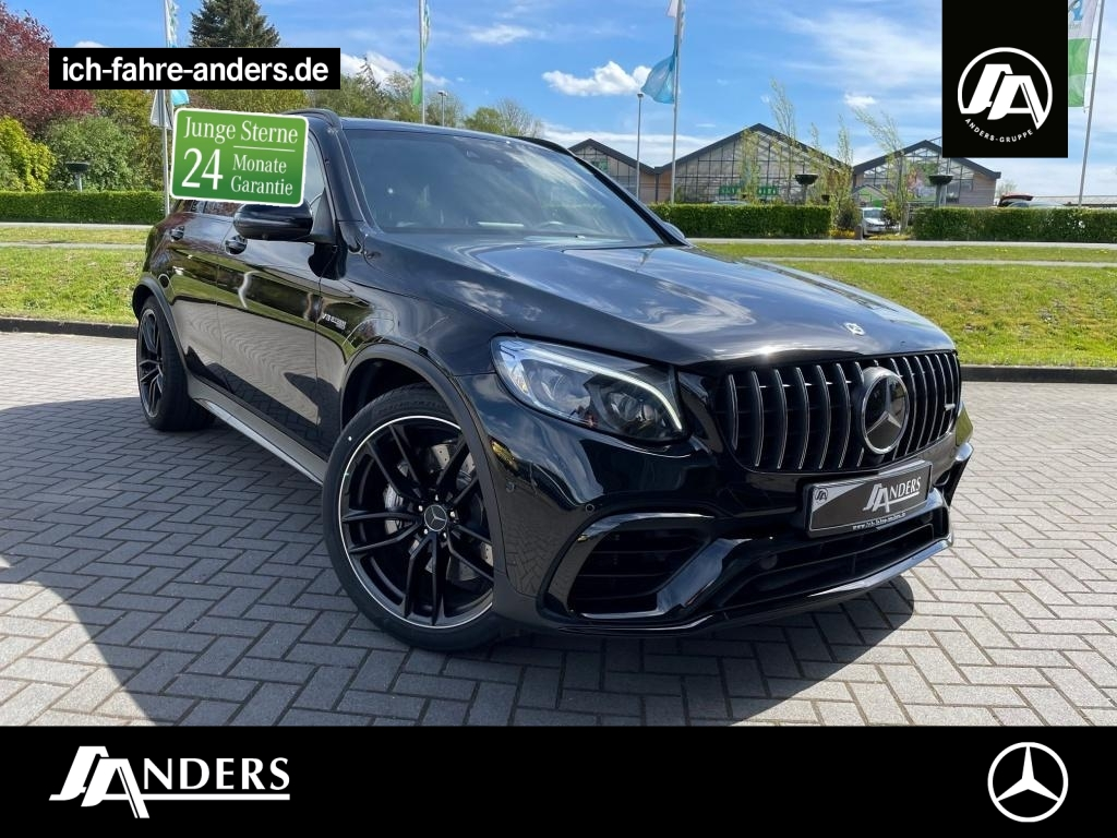 Mercedes-Benz GLC 63 AMG 4M+ Burm+Comand+Pano+Distr.+360°+HUD, Jahr 2019, Benzin