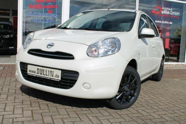 """Nissan Micra Acenta """" White Edition! """" Ganzjahresreifen, Jahr 2013, Benzin"""