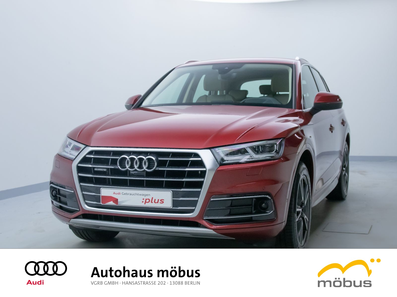 Audi Q5 design 2.0 TDI QU*S-TRO*AIR*LED*HUD*ASSIST*SH, Jahr 2017, Diesel