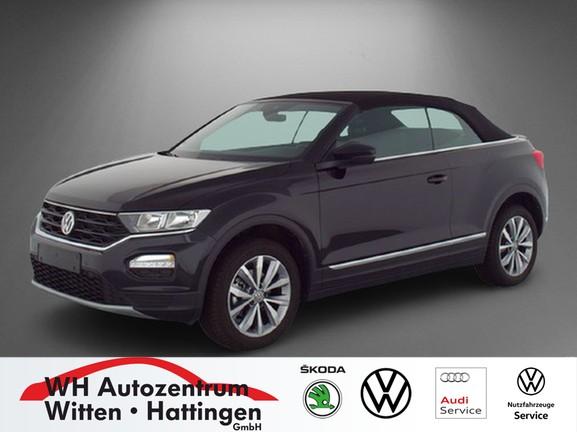 Volkswagen T-Roc Cabriolet 1.0 TSI STYLE NAVI AHK ACC PDC SITZHZG, Jahr 2020, Benzin