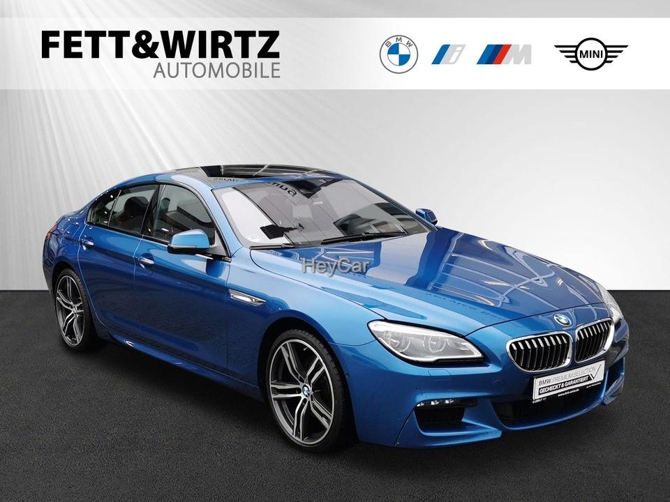BMW 640 Gran Coupe xDrive GC M-Sport NightV TV 20'' B&O Standhz, Jahr 2017, Diesel