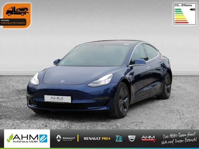 Tesla Model 3 Long Range AWD VERMIETUNG MÖGLICH ACC, Jahr 2019, Elektro