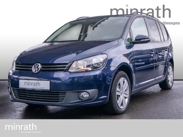Volkswagen Touran Comfortline BMT 1.6 TDI Navi Rückfahrkam. RDC Alarm Klima SHZ Temp PDC DVD, Jahr 2015, Diesel