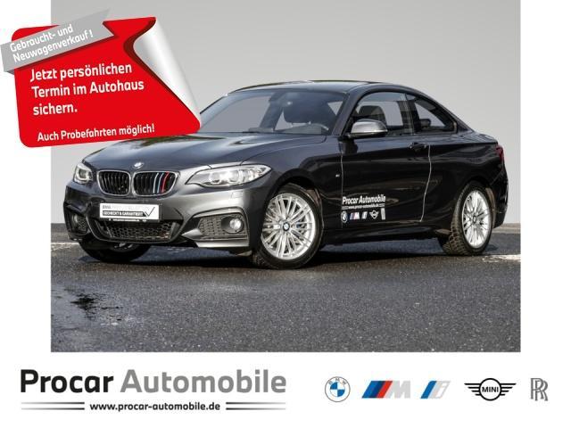 BMW 218d Coupe M Sport Navi Prof. Aut. Xenon uvm., Jahr 2015, Diesel